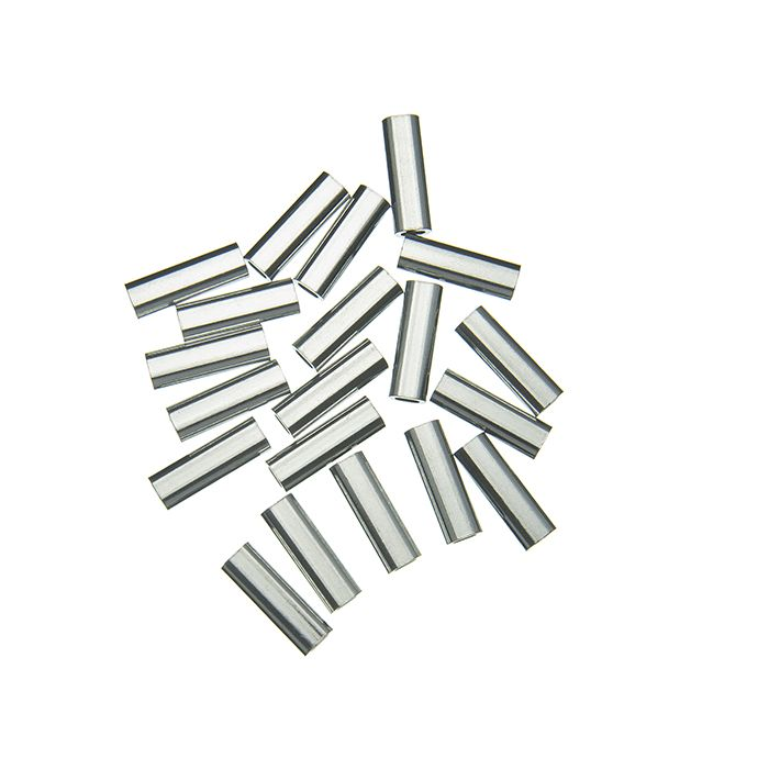 ALUMINIUM SINGLE CRIMP SLEEVE - 100 LB - 1.0