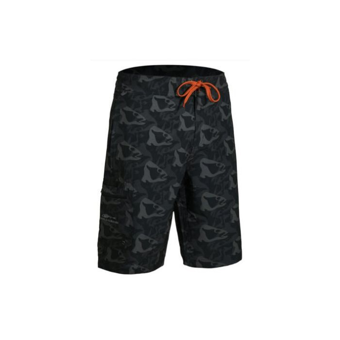 FISH HEAD BOARD SHORT - BLACK FISH CAMO - L 36