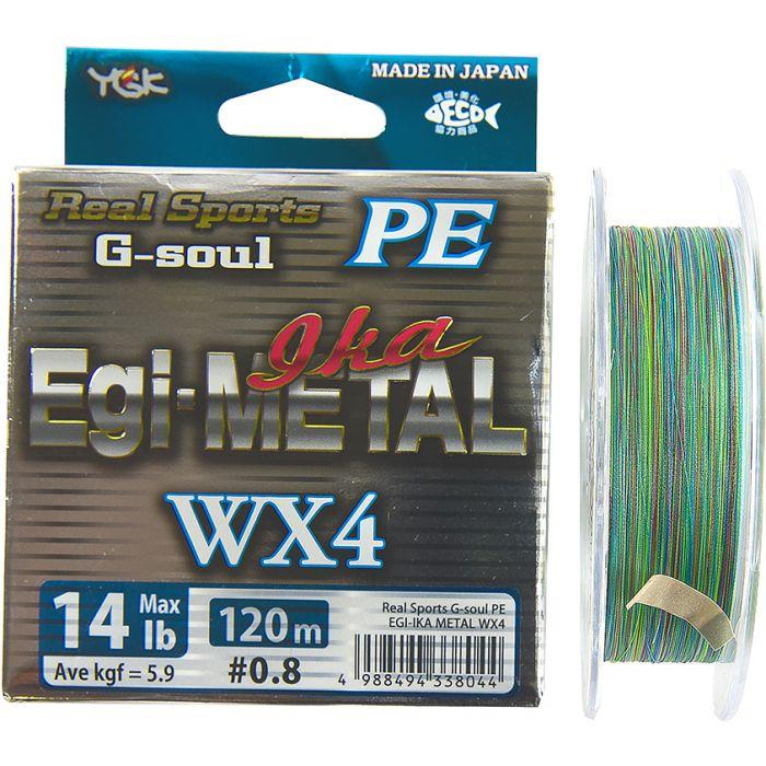 G SOUL WX4 EGI&METAL - PE 0,6