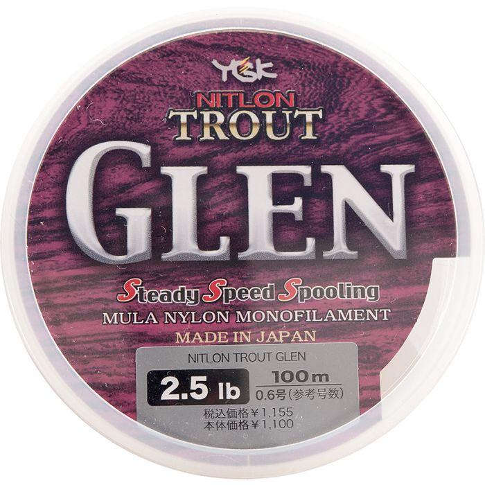 NITLON TROUT GLEN N350 - 2.5 LB - PE 0.6