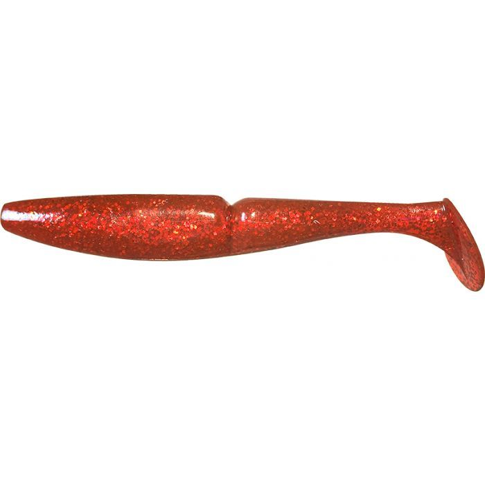 ONE UP SHAD 3 - 035 RED RED FLAKE