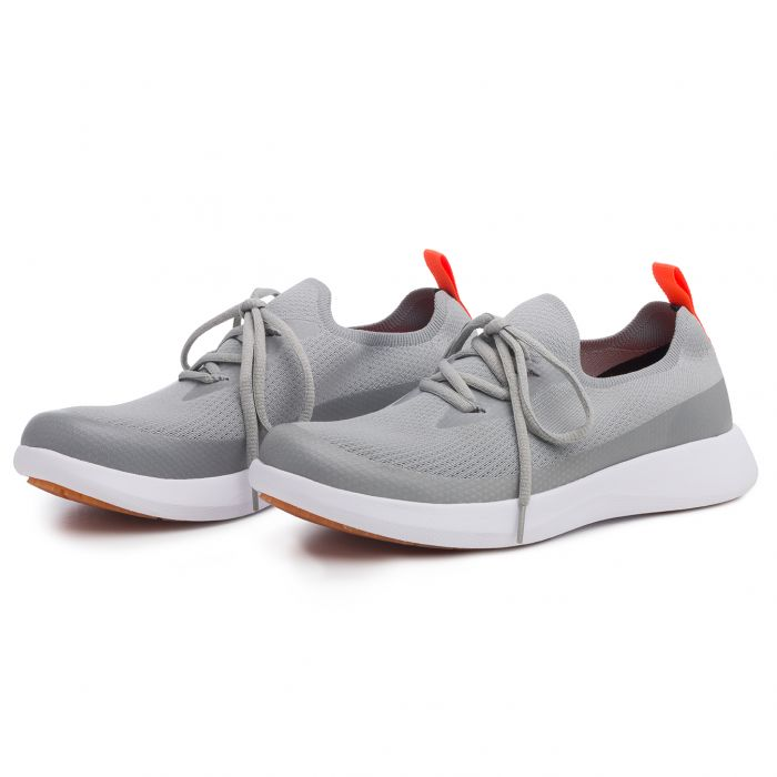 CHAUSSURES SEA KNIT BOAT - METAL - 43