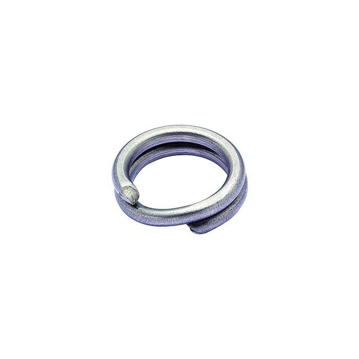 SPLIT RING HEAVY SILVER - 9 - 200 lb (10/pck)