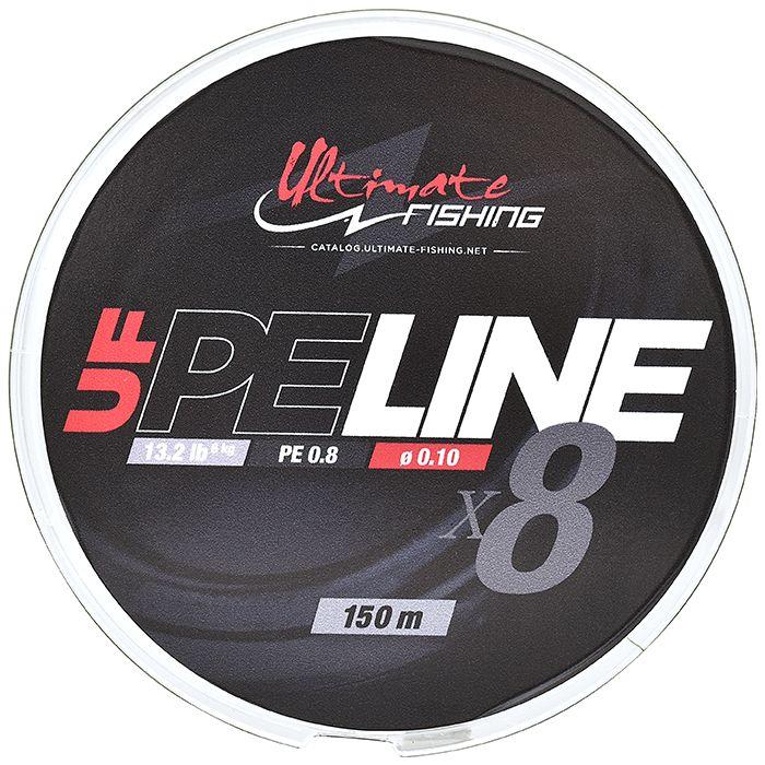 UF PE LINE X8 - PE 0.8 - 0.10 mm - 13.2 lb