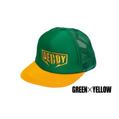 CASQUETTE DA-17 DECOY MESH CAP GREEN/YELLOW