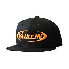 CASQUETTE FLAT CAP BLACK / YAKO ORANGE