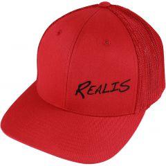 CASQUETTE REALIS SNAPBACK CAP 18 RED