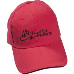 CASQUETTE ULTIMATE FISHING - RED