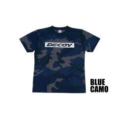 TEE SHIRT DECOY DRY BLUE CAMO