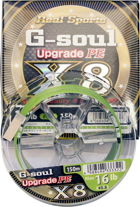 YGK G Soul X8 Upgrade D612-3 50 LB 200M X6