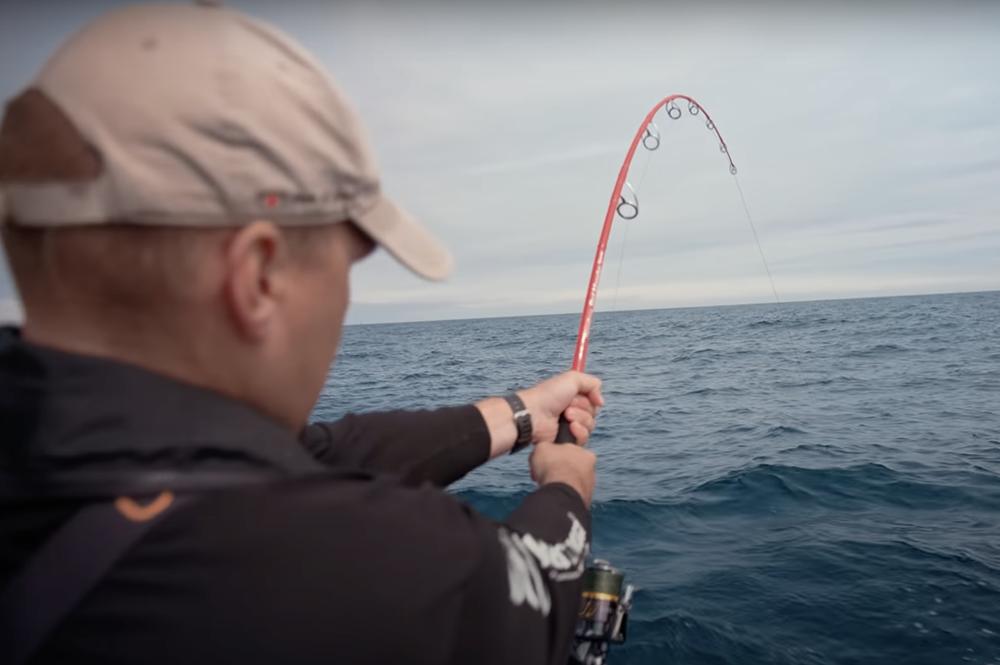 Pêche du thon au leurre