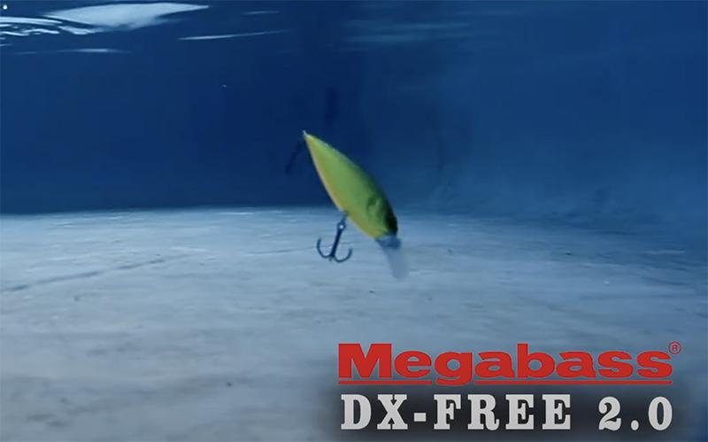Nage du Megabass DX Free 2.0