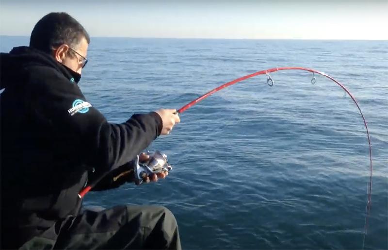 Pêche du thon au leurre avec Samir