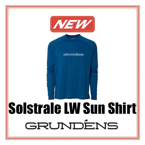 SOLSTRALE LIGHWEIGHT SUN SHIRT - DEEP BLUE